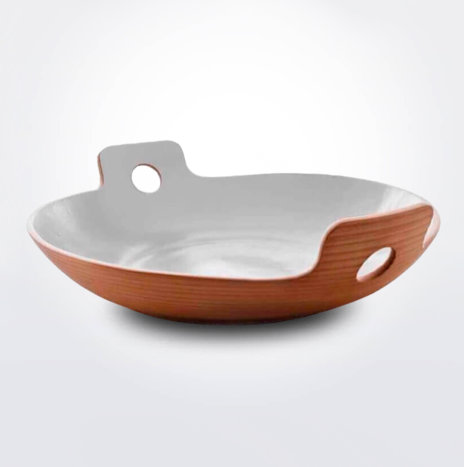 White Spaghetti Bowl (Small)