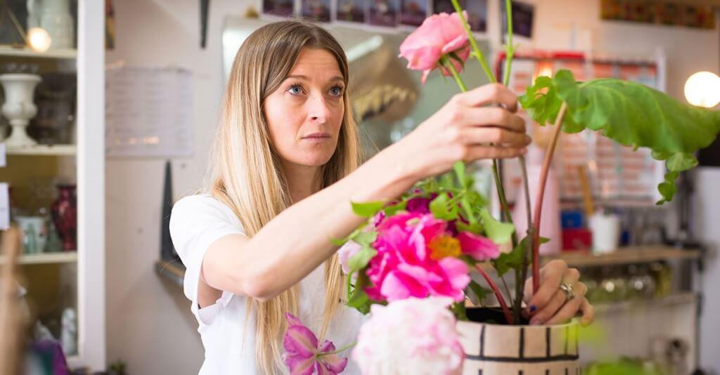 Flower Arranging 101 with Hattie Fox