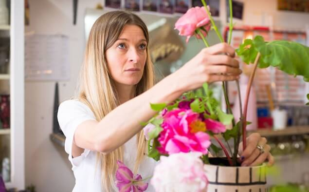 Flower Arranging 101 with Hattie Fox