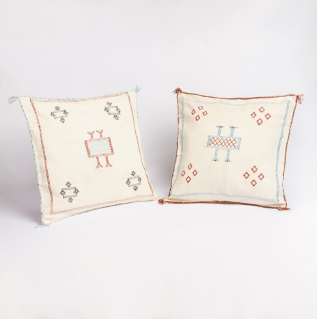 HANDWOVEN MOROCCAN PILLOW COVER SET