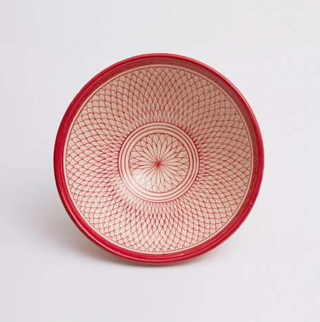 MOROCCAN SAFI RED SALAD BOWL