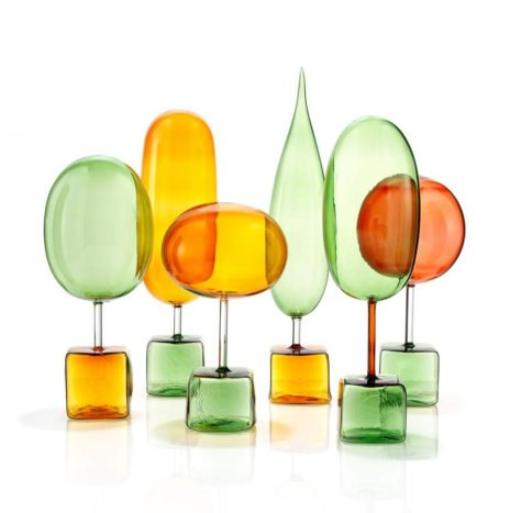 MAGIC FOREST GLASS SET