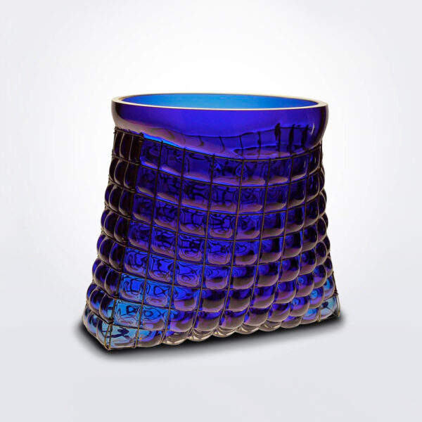 Grid Bag Vase product photo.