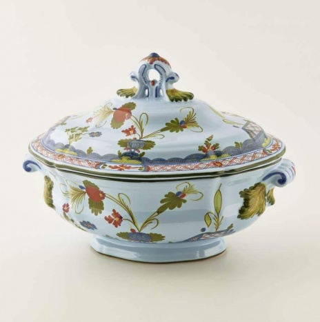 OVAL SOUP TUREEN FOR 6 PEOPLE