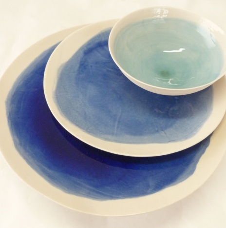 MACCHIA BLUE TABLE SET