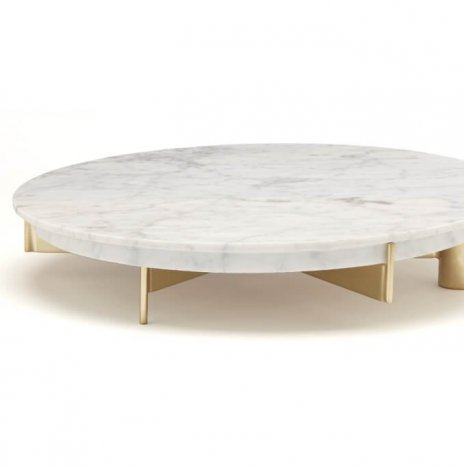CAKE STAND MARBLE AND CAKE KNIFE