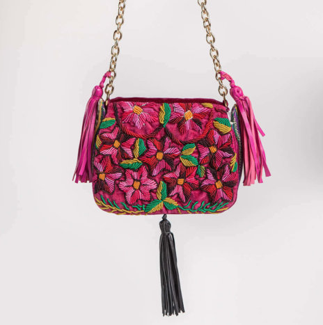 EMBROIDERED ROKI BAG II