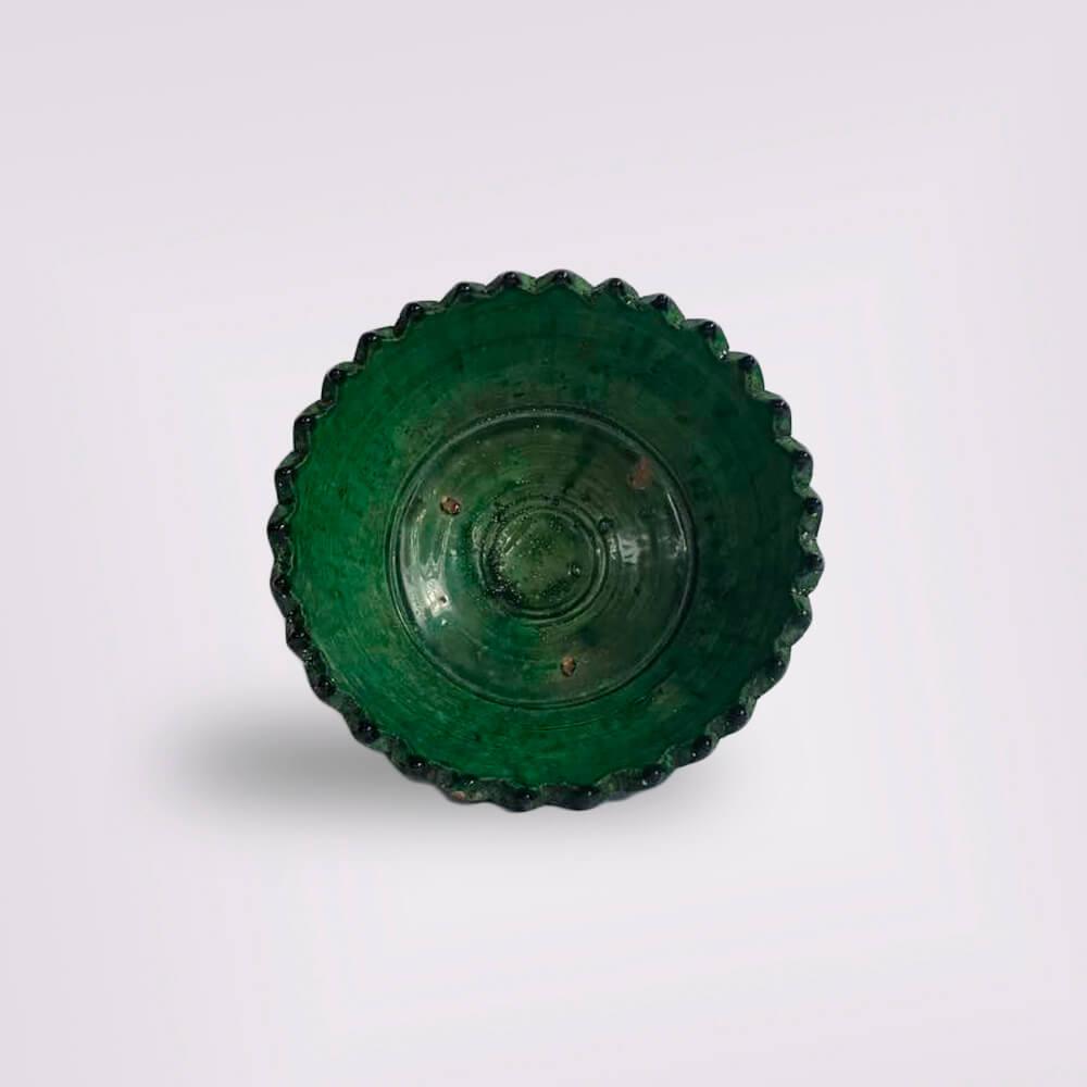 MOROCCAN GREEN FRUIT BOWL