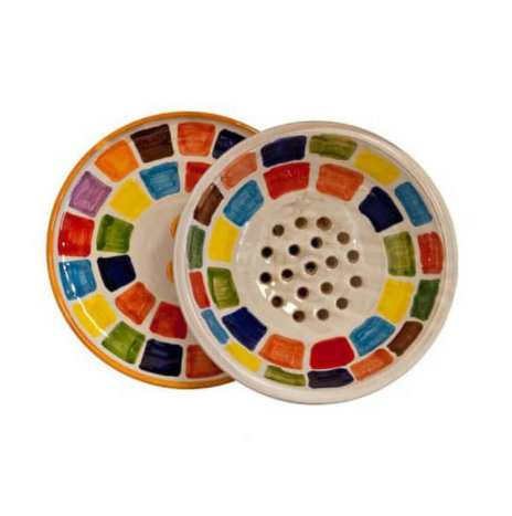 COLANDER WITH TRAY SET