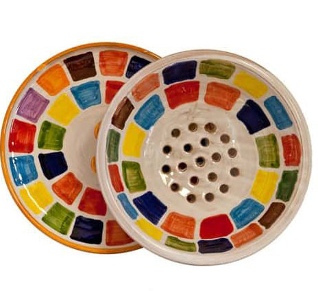 COLANDER WITH TRAY