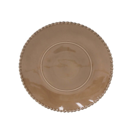 BROWN PEARL CHARGER PLATE