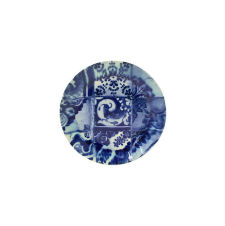 BLUE CERAMIC PLATTER