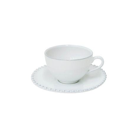 Costa Nova Pearl Coffee Cup & Saucer Set
