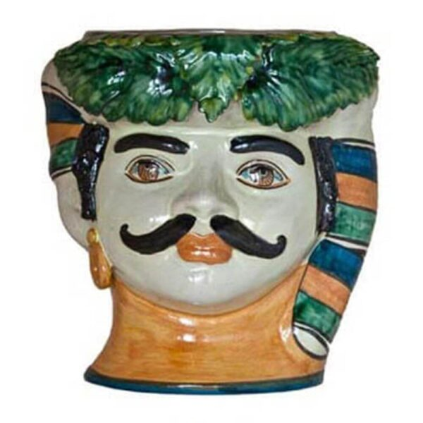 MOUSTACHE MAN HEAD VASE MAIN