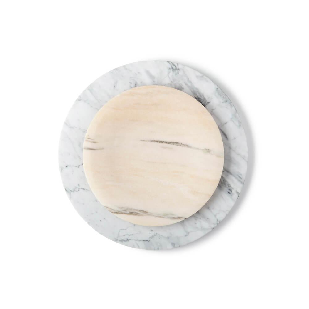 Marble-tray-set