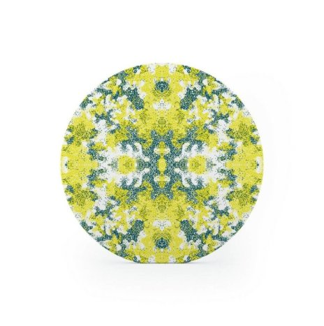 ALGAE PATTERNED CHARGER PLATE SET