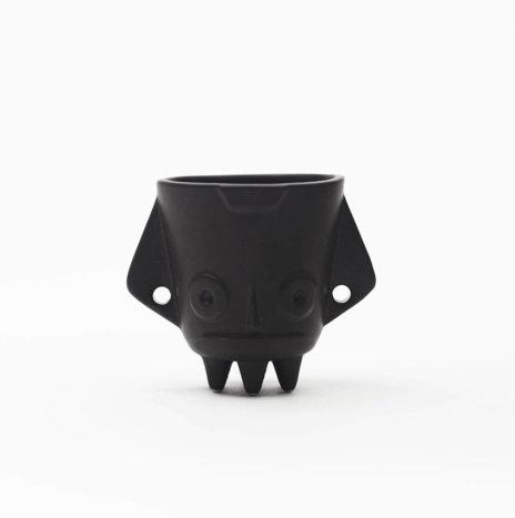 ALUXE BLACK PLANTER POT (Small)