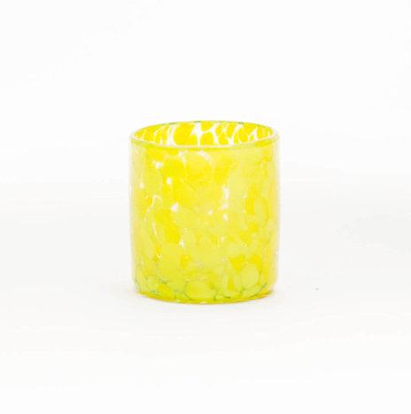 Yellow Confetti Shot Glass Set