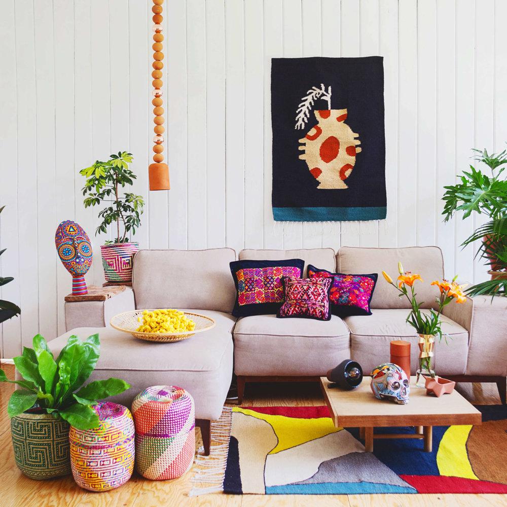 Journey to Mexico Living Room Maison Numen