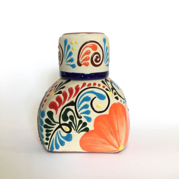 Michoacan water jar orange product picture.