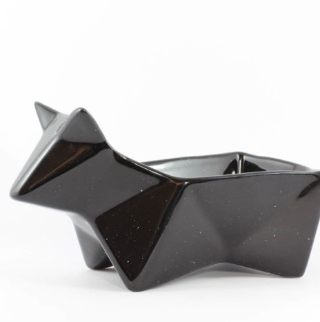 PEEK BLACK SNACK BOWL