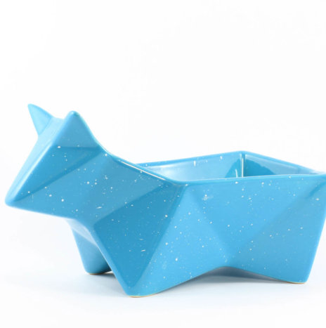 PEEK BLUE SNACK BOWL