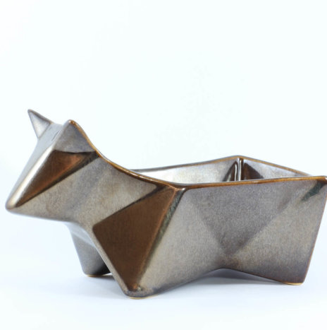 PEEK DARK GRAY SNACK BOWL