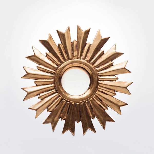 Sunburst wall mirror large.