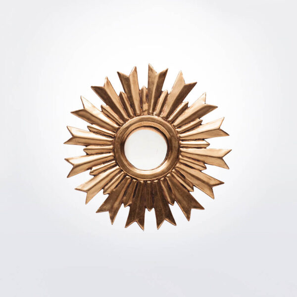 Sunburst wall mirror small.