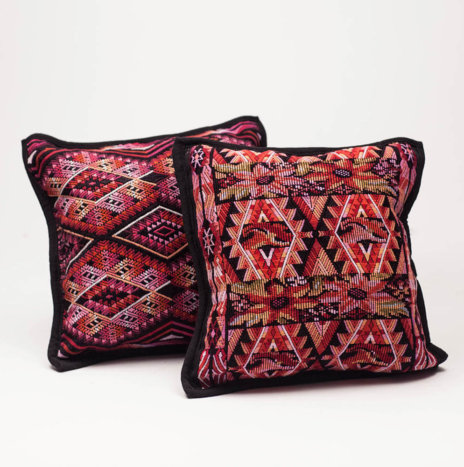 "CHIAPAS HUIPIL PILLOW COVERS ""S"""