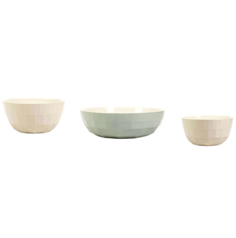 EARTHENWARE BOWLS SET