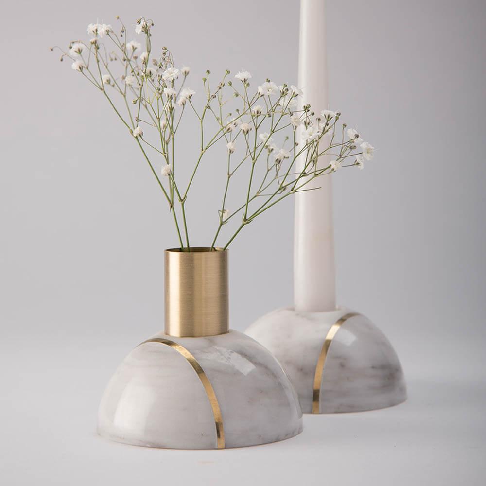 Hauri-white-marble-candleholder-3