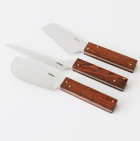 LA NOCHE 3 PIECE CHEESE KNIFE SET