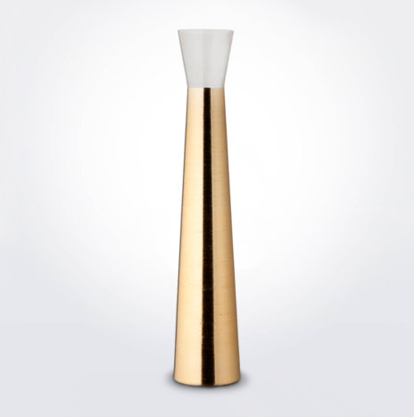 Tall Futura Golden Vase
