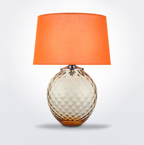 Infiore Orange And Honey Desk Lamp