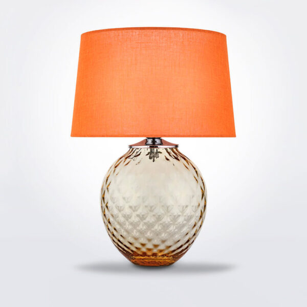 Infiore orange and honey desk lamp.