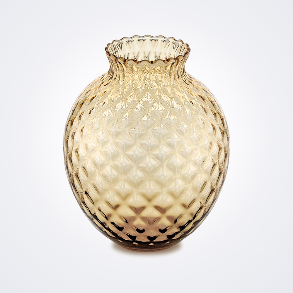 Infiore-clear-honey-tall-vase