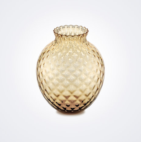 Infiore Clear Honey Vase