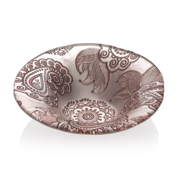 PASHMINA TURTLEDOVE PAISLEY BOWL (Small)