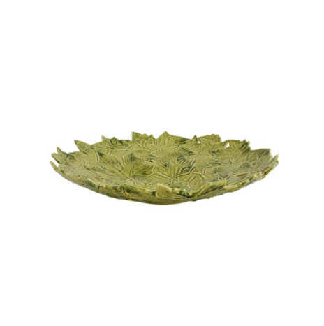 PLANTAIN LEAVES CERAMIC CENTERPIECE