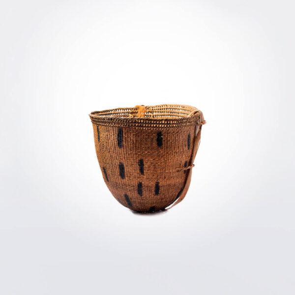 Wii amazonian basket medium iv gray background.