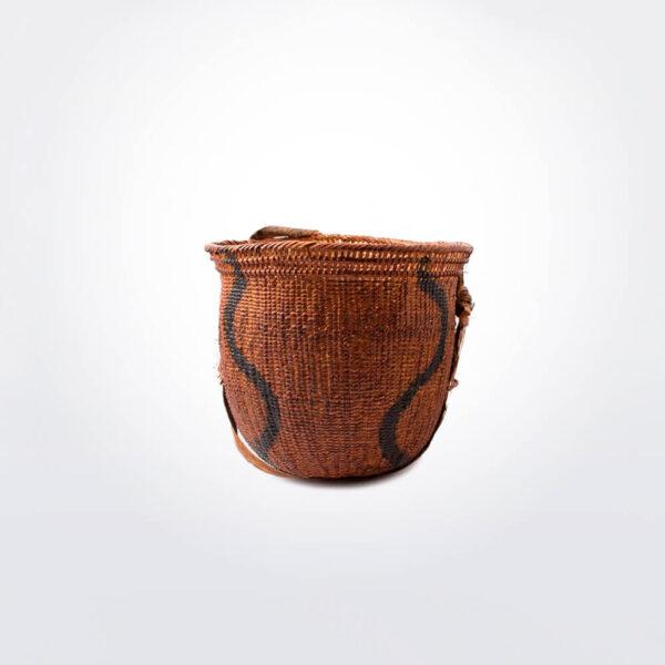 Wii amazonian basket small iii gray background.