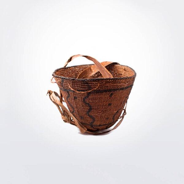 Wii amazonian basket small iv gray background.