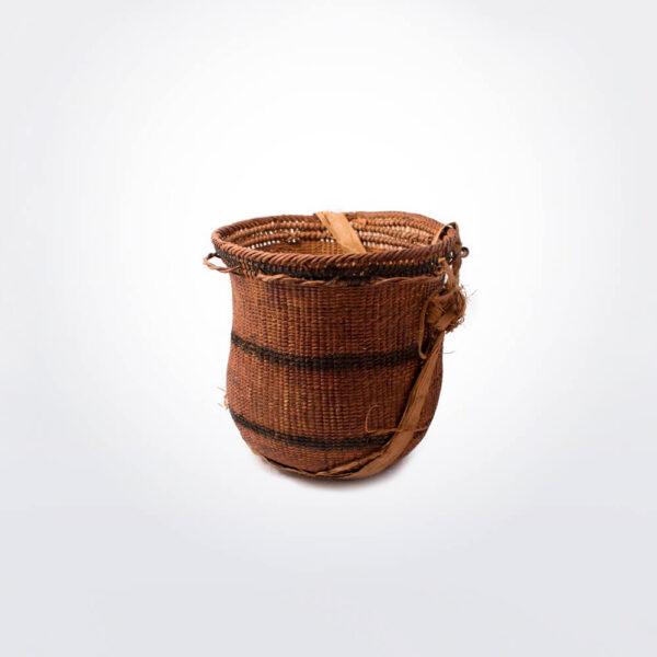 Wii amazonian basket small v gray background.