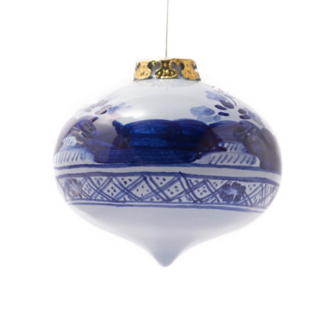 BLUE ONION CHRISTMAS BAUBLES SET
