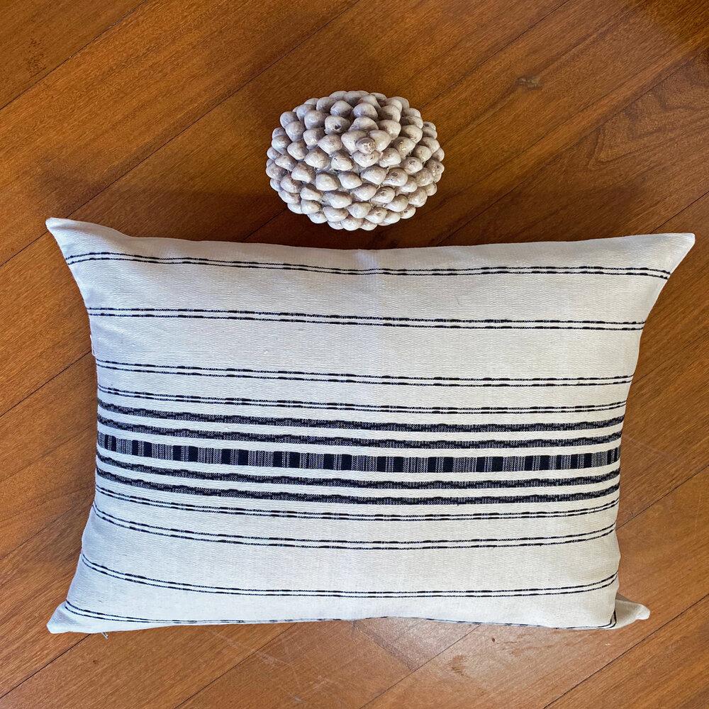 White Ceramic Pine Cone