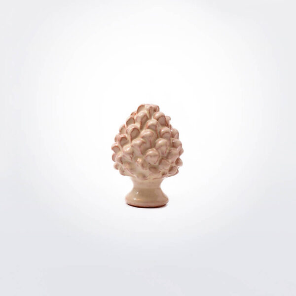 Ceramic pine cone extra small.