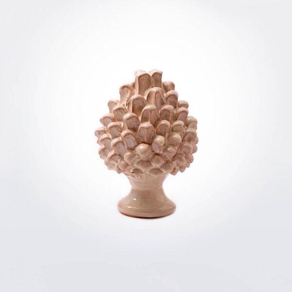 Ceramic pine cone medium.