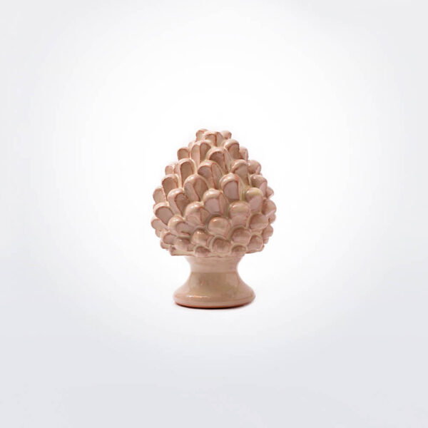 Ceramic pine cone small.