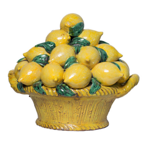 FRUIT BASKET WITH LEMONS